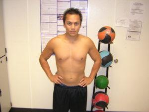 still chubby personal trainer Tony Arreola