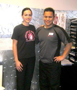 chubby personal trainer Tony Arreola