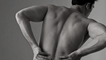 a guy who needs to remove low back pain with stretching